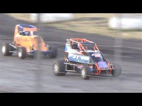 600 Micro Sprint  MAIN  6-18-16  Petaluma Speedway