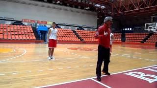 Evaristo. Basket Burgos 2002 en Memorial Alvaro Castillo