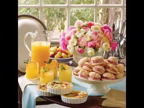 brunch decorating ideas table baby shower brunch menu decorations ideas youtube