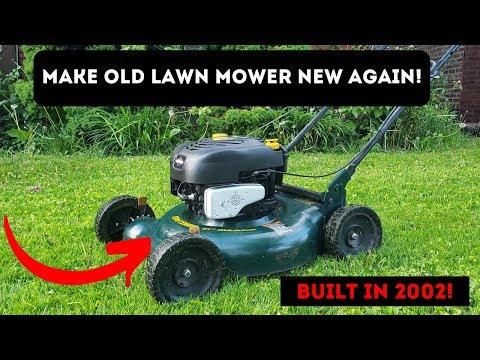 How To: Spray Paint Lawn Mower Muffler