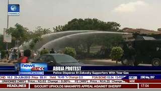 Police Disperse El-Zakzaky Supporters' Protest In Abuja With Tear Gas