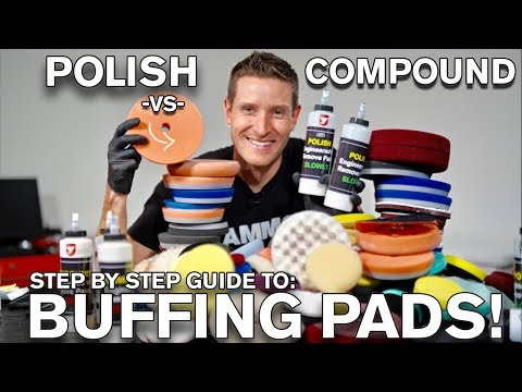 Polishes vs Compounds vs Buffing Pads! ATA 205