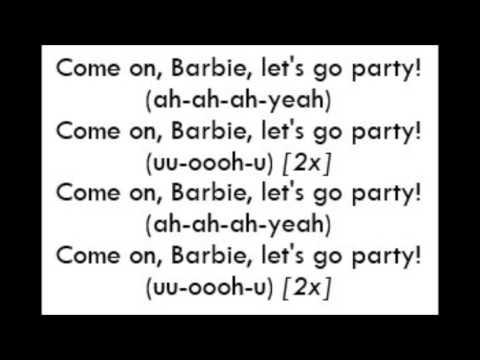 Aqua - Barbie Girl (Lyrics)