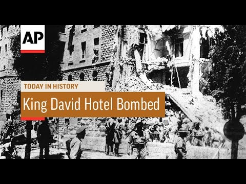 King David Hotel Bombed - 1946 | Today in History | 22 July 16