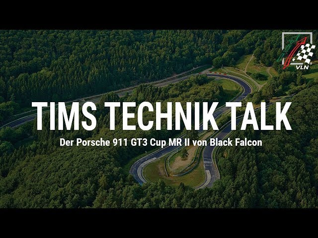 Tims Technik Talk: Der Porsche 911 GT3 Cup MR II von Black Falcon