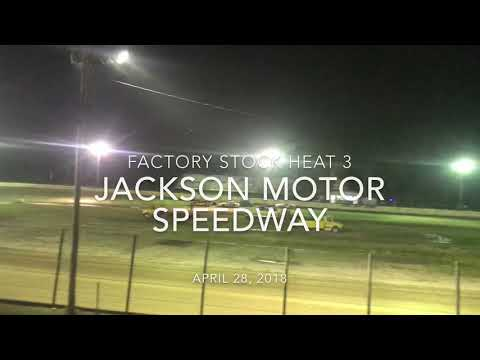 Jackson Motor Speedway 4/28/18 Factory Stock Heat 3