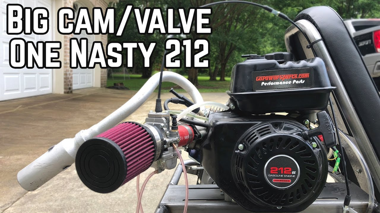 20HP Big Valve Predator 212 Runs!