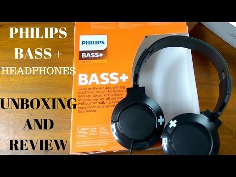 Philips Bass+ on-ear headphones  | Unboxing & Review | Best budget headphones?