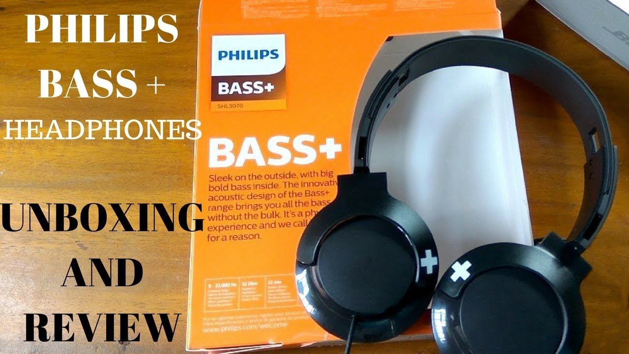 Wireless Bluetooth OnThe-Ear Headphones with Mic Philips SHB3075BK//27 BASS