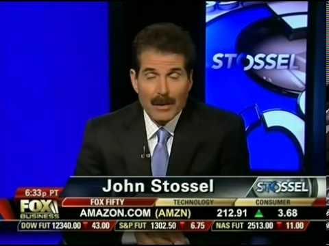 John Stossel - Fuel Myths: Top Oil Producers, Scarcity, Speculators, Electric Cars, Ethanol 5/31/12