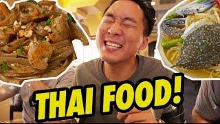 THAI FOOD! WE ORDER EVERYTHING - Fung Bros Food