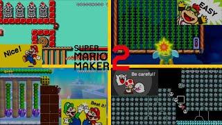 Super Mario Maker 2 - Aiden's!!:/ Showcase