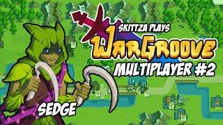 WarGroove - Multiplayer (PvP) Gameplay #2 Commander Sedge