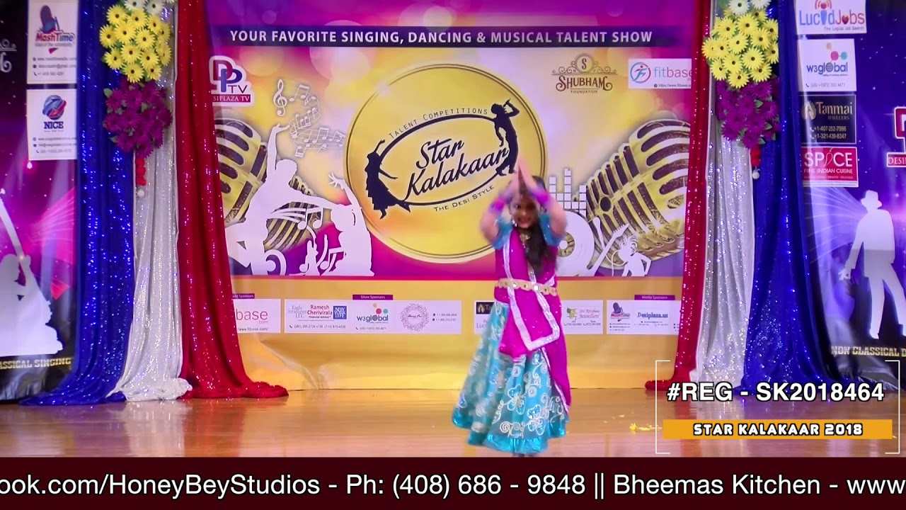 Registration NO - SK2018464 - Star Kalakaar 2018 Finals - Performance