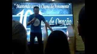 Pastor Lucinho Barreto no Projeto Semeando Avivamento 03/09/13