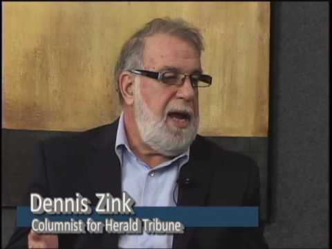 Dennis Zink with the Herald Tribune #1608
