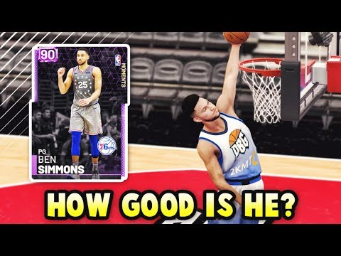 How GOOD Is Amethyst Ben Simmons ACTUALLY? | 610 Point Guard in NBA 2k19 MyTEAM!!