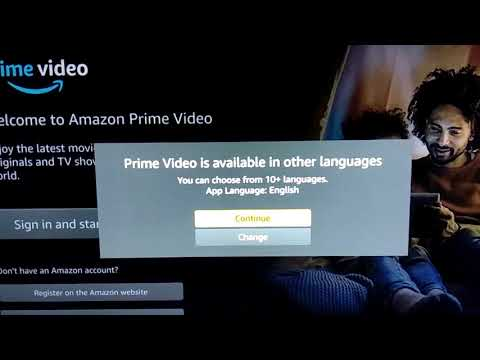 Activating And Using Amazon Prime Video App On MiTV 4A Pro