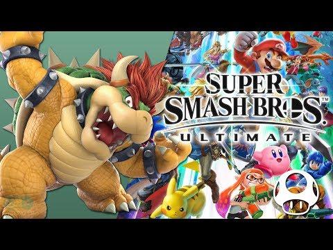 King Bowser Super Mario Bros 3 New Remix - Super Smash Bros Ultimate Soundtrack