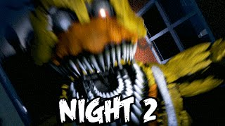 NIGHTMARE CHICA JUMPSCARE!   Five Nights at Freddy's 4 - Part 2 (NIGHT 2)   FNAF 4 WALKTHROUGH