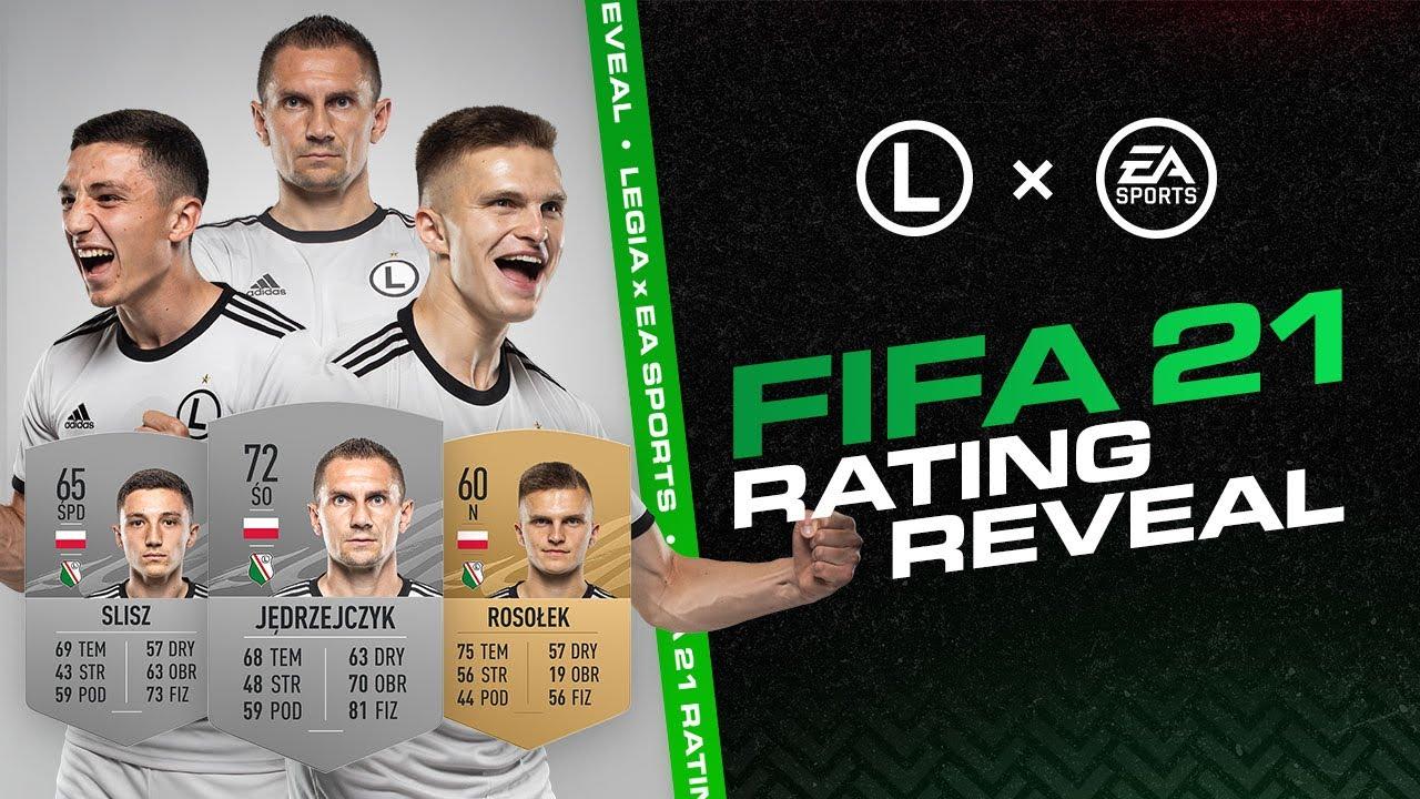 FIFA 21 RATINGS REVEAL: Legia Edition | Jędrzejczyk, Slisz, Rosołek