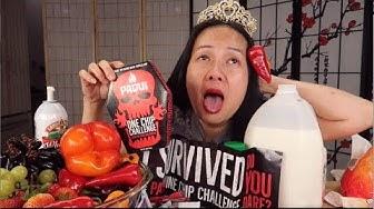 Ăn Chip Paqui cay nhất thế giới,CHIẾN THẮNG DANH HIỆU Nữ Hoàng Cay Đắng.Paqui One Chip challenge.