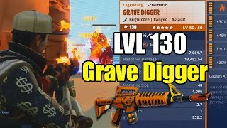 Getting the Grave Digger Level 130 And Giveaway to Everyone! Fortnite Save the world STW PVE