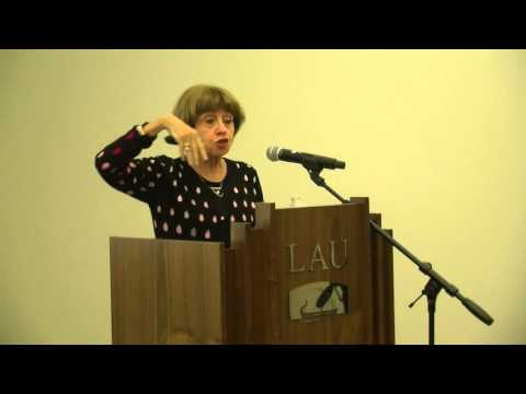 Dr. Samira Aghacy Lecture and book launch at LAU NY