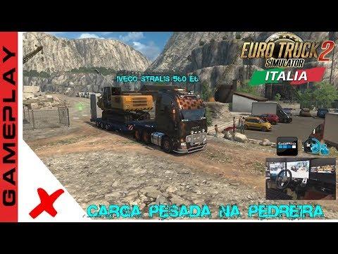 EURO TRUCK SIMULATOR 2 (ETS2) - DLC ITALIA - A PEDREIRA [1.30 + G27]