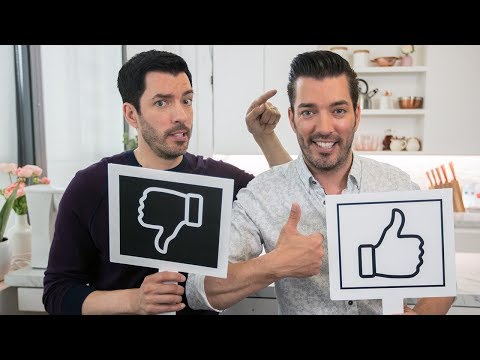 The Property Brothers Discuss Small Spaces