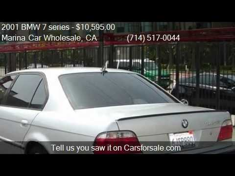 2001 bmw 7 series 740il for sale in anaheim ca 92802 at the youtube. Black Bedroom Furniture Sets. Home Design Ideas