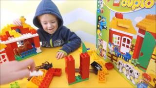Lego DUPLO 10525 BIG FARM REVIEW ОГЛЯД  КОНСТРУКТОР ЛЕГО ДУПЛО ФЕРМА ОБЗОР ЛЕГО ДУПЛО 10525