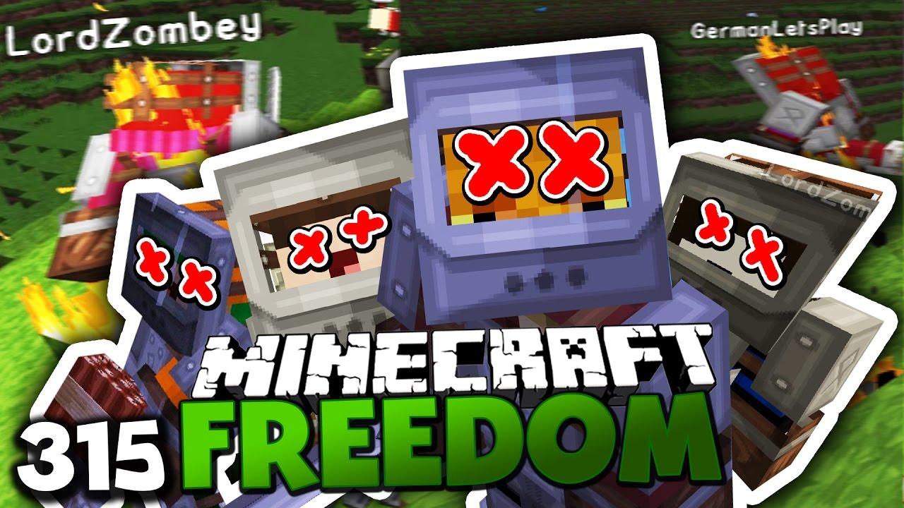 Download DIE FINALE WELLE! & HEUTE GIBT ES TOTE! ✪ Minecraft FREEDOM #315 DEUTSCH | Paluten