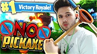 ΝΙΚΗ ΧΩΡΙΣ PICKAXE CHALLENGE! (Fortnite Battle Royale)