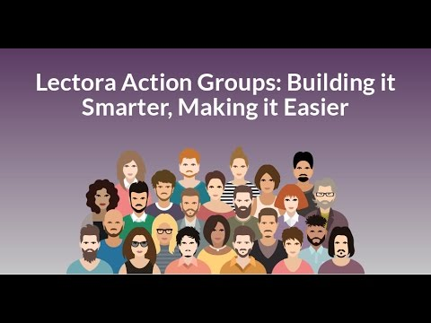 [Webinar] Lectora Action Groups: Building it Smarter, Making it Easier