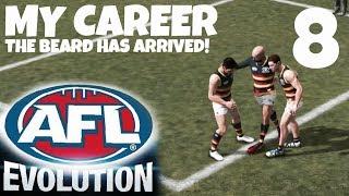 AFL EVOLUTION! MY CAREER EP 8 - THE BEARD HAS ARRIVED!! LOL
