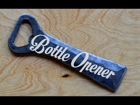 How To Forge A Church Key Bottle Opener Blacksmithing