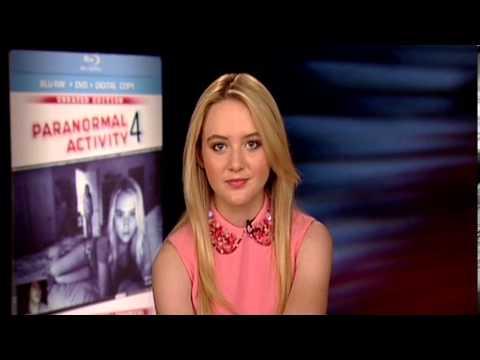 Kathryn Newton - Paranormal Activity 4 Interview