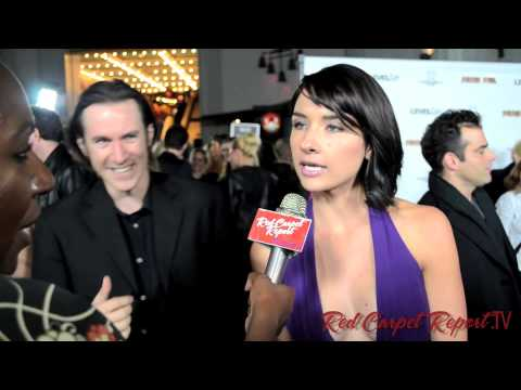 Cortney Palm at the Sushi Girl Gala Premiere Red Carpet @cortneypalm5