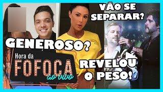 🔥SAFADÃO TERIA PRESENTEADO FÃ COM CELULAR NOVINHO | GRACYANNE REVELA PESO | VICTOR E LEO SEPARADOS?