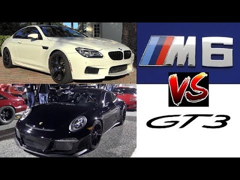 Porsche Gt3 991 Vs 600 Hp Bmw M6 W Compeion Package 1 4 Mile Drag Race Road Test