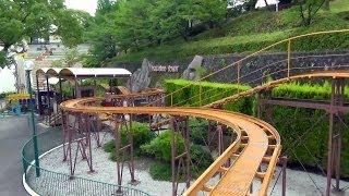 Peek A Boo Town Roller Coaster POV Hirakata Park Japan