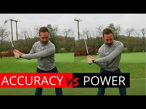 FIND YOUR PERFECT GOLF SWING POWER VS ACCURACY TIPS