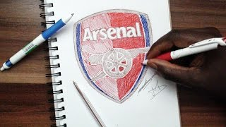 SKETCH SUNDAY #2 How To Draw The Arsenal Logo - DeMoose Art