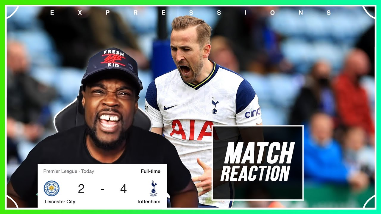 Download WE WIN AND LOSE AT THE SAME TIME, WORST LUCK EVER 🤬!! Leicester vs Tottenham 2-4 EXPRESSIONS REACTS