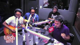 Sponge Cola - Tuliro (LIVE) on Wish FM 107.5 Bus HD
