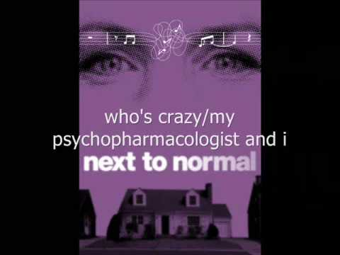 BWAY BARBIE'S KARAOKE - Next to Normal - Who's Crazy/My Psychopharmacologist and I