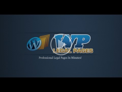 WPLegalPages - Get Privacy Policy and Legal Page Generator Plugin for WordPress Websites