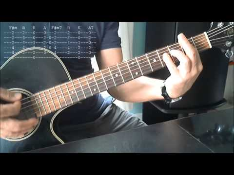 Layla Eric Clapton, acoustic version guitar lesson