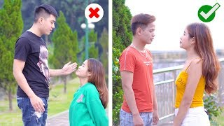 SHORT PEOPLE VS TALL PEOPLE! WHEN SHORT PEOPLE LOVE TALL PEOPLE || Awkward Situations